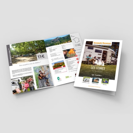 Brochure Camping Les Cèdres